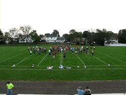 Cavalcade Practice at Junior High West