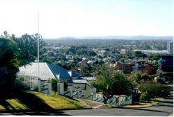 Panoramic view of Ipswich