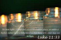 Luke 11:33