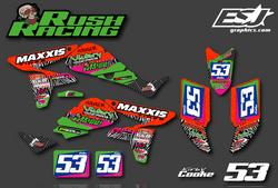 Rush Racings Kirby Cooke 2010