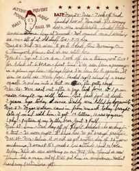 Gerald Isaac Grubb Journal Page
