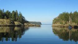 Smuggler Cove on a September morning