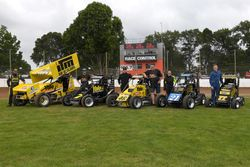 Rob Vazey with the Yale Sponsored Cars