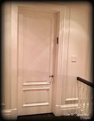 Bed room door Installed
