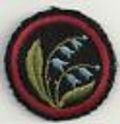 Harebell Patrol Badge