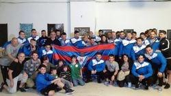 Eibar talde osoa 2016
