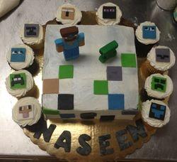 Mine Craft Cupcakes