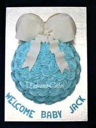 Baby Shower Baby Bump Cake 37
