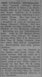 Brumbaugh, Lucinda Dilling 1927