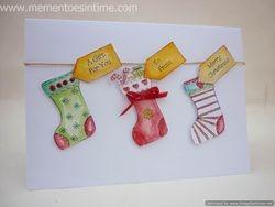 Three Stockings Card