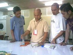 Practical or Hands on Basic Laundry Training