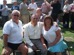 Mick McManus, Colin Joynson and Wendy Mellor