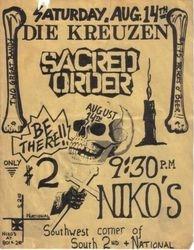 1982-08-14 Niko's, Milwaukee, WI