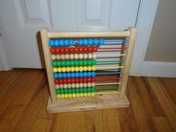 Melissa & Doug Classic Wooden Abacus - $8