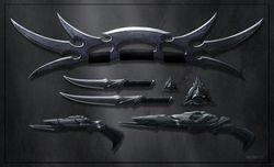 Klingon weapons pack