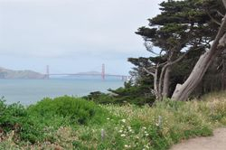 Golden Gate Bridge from Land's End