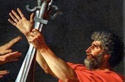 David, Oath of the Horattii