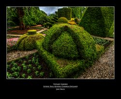Topiary Garden-Levens Hall-Kendal-Cumbria-England