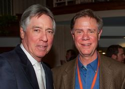 With Composer, Alan Silvestri