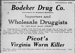Picot's Virgina Worm Killer