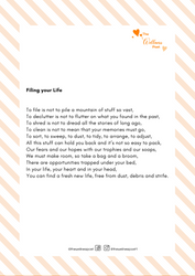 Filing your Life