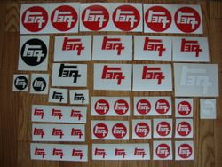 Old School TEQ Stickers