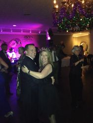 Denise & John Peeples dancing the night away