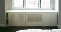 Radiator Cover with Storage