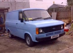 1980s  Ford Transit panel van SWB