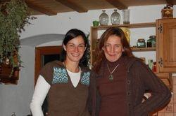 Susanne og Cristina!