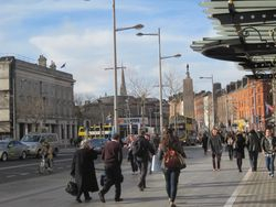 Ever-bustling O'Connell Street