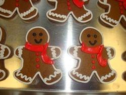 fancy gingerbread boys $3 each