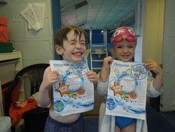 Swimming certificate