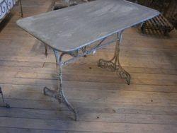 #14/193 Metal Rec.Table Zinc Top SOLD