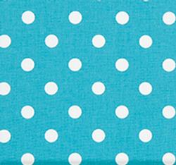 Polka Dot Coastal Blue
