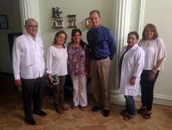 Visita del personal del Consulado General de los Estados Unidos en Guayaquil.