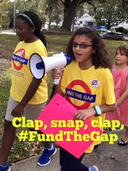 Snap, Clap, Fund the Gap!