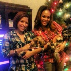 Valerie, Dee Dee, Sophie & Brooklyn On Christmas Eve!