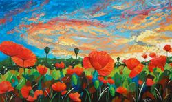 Big Sky Sunset 60x36 inches