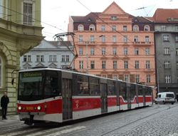 Tatra KT8D5R.N2  in Stare Mesto (The Old Town)