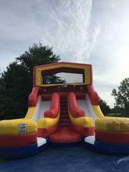 Dual Lane Splash slide