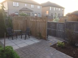 Patio finished
