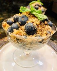 Berry and Yogurt Parfait