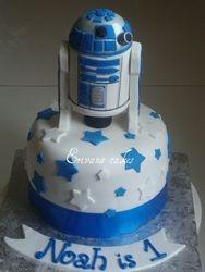 R2D2 Star Wars cake 1 (B065)
