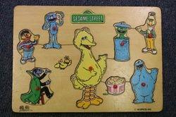 Sesame St puzzle