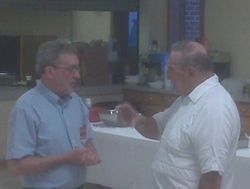 Norman St.Hilaire, FDD and Sal Garafalo, PSD