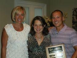2011 Meg Olivia Barkman Scholarship Recipient - Jessica Panzer, M.D.