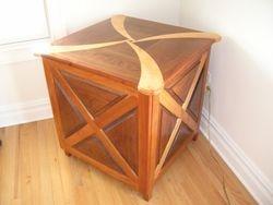 Walnut, Cherry, Birch Table - 1