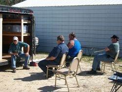 Steve  teaching our crew!