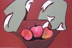 Nature morte aux pommes II